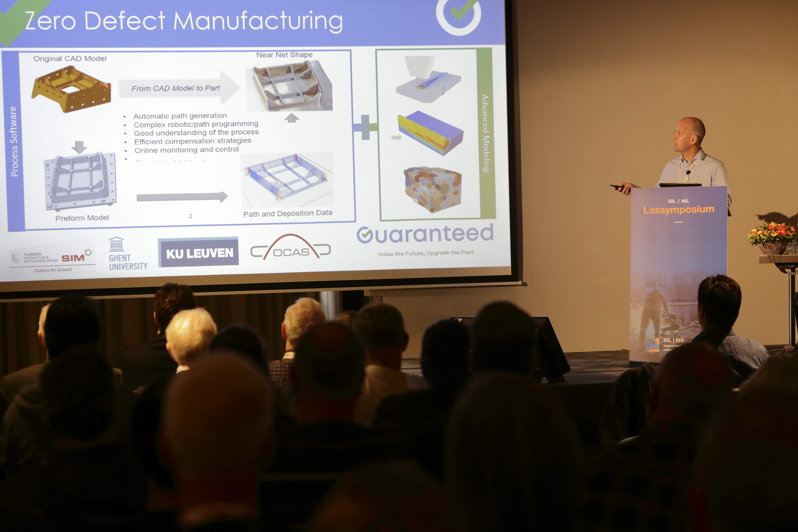 Our approach towards first-time-right, zero-defect manufacturing